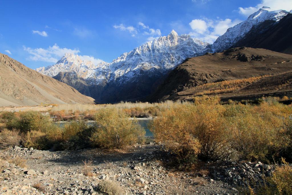 scenery in Tajikistan