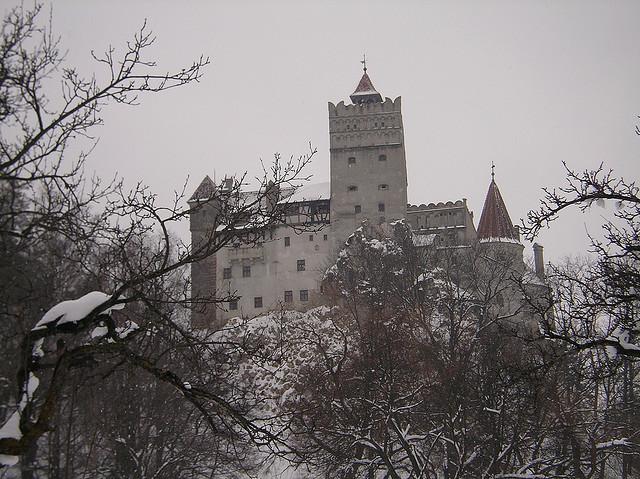 In the heart of the Transylvanian Alps lies Dracula's castle ... do you dare enter?