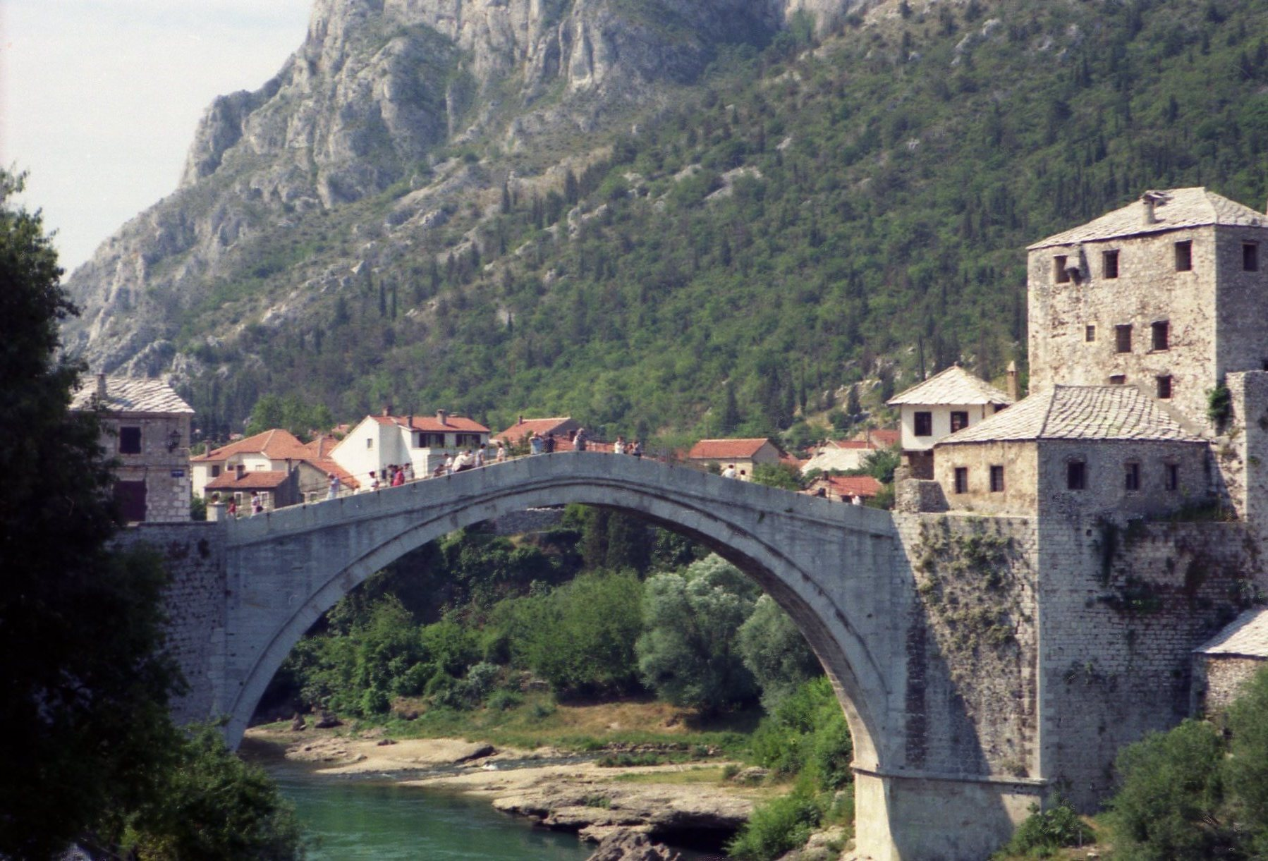 Stari Most bridge is one of the top tourist attractions in Bosnia...