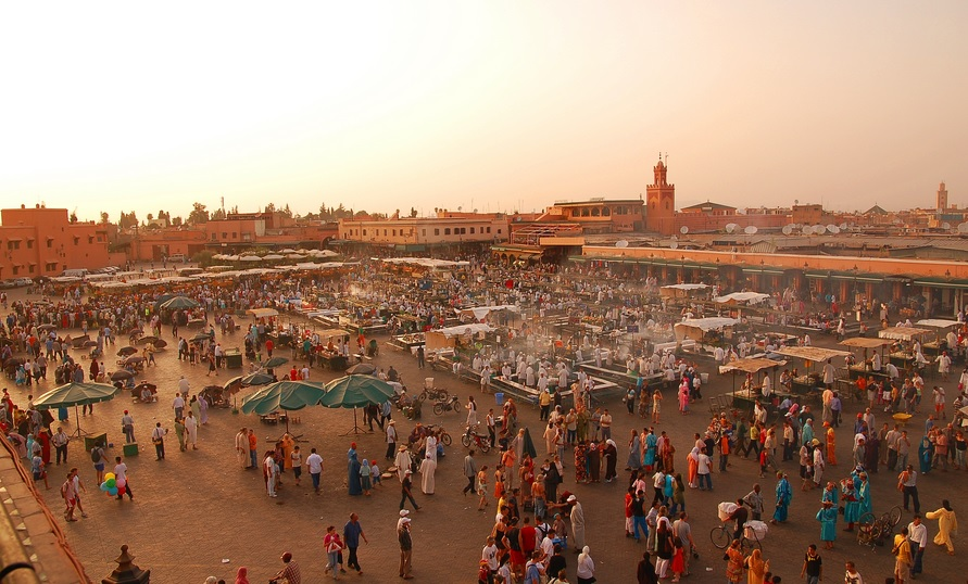 A holiday in Marrakech isn't complete with a visit to the Medina, where a massive market awaits the inquisitive!